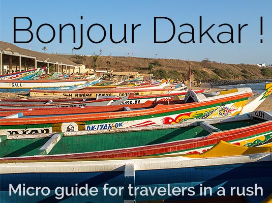 Usefull information about Dakar
